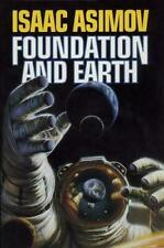 Foundation and Earth by Isaac Asimov (1986, Hardcover)