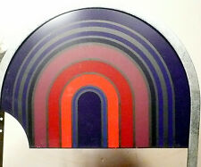 SEEBURG STD 4 JUKEBOX  part: UPPER RIGHT GLASS & GRAPHIC GLASS for DOLLAR UNIT