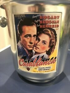 """POTTERY BARN """"CASABLANCA"""" ICE BUCKET WINE COOLER MADE IN ITALY GREAT CONDITION"""