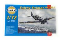 SMER Plastic Model Kit 1/72 Military Airplane Fairey Fulmar Mk1 Mk2
