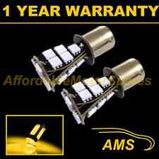 2X 382 1156 BA15s XENON AMBER 21 SMD LED FRONT INDICATOR LIGHT BULBS FI201702