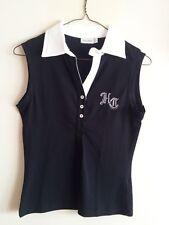 Maglia / Polo in cotone da donna Henry Cottons Originale TG.42 colore nero NUOVA