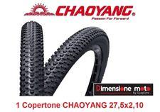 """1 Copertone C-YANG 27,5x2,10 Tassellato Nero per Bici 27,5"""" MTB Mountain Bike"""
