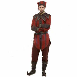 DBH Keeper Cicero Cosplay Skyrim The Elder Scrolls Costume Set (No shoes)