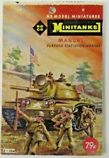rare 1964 ROCO MINITANKS MANUAL Catalog in English