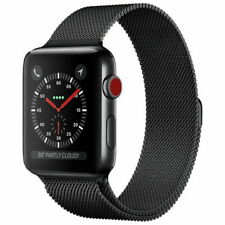 For Apple Watch Series 5/4/3/2/1 Watch Metal Band Strap Milanese 38mm/42mm 40/44