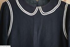 Art Deco French CHILD DRESS CREPE SILK c1920
