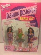 New in Packaging Barbie Fashion Designer Refill Kit Software