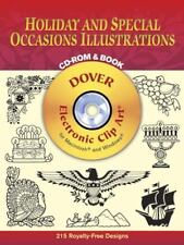 Holiday and Special Occasions Illustrations CD-ROM and Book~Dover Elec. Clip Art