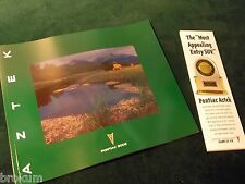 "NEW ORIGINAL 2002 PONTIAC AZTEK DEALER SALES BROCHURE 10"" X 12"" (BOX 356)"