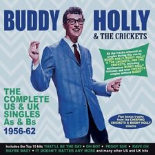 The Complete US & UK Singles As & Bs 1956-1962 * by Buddy Holly/Buddy Holly & the Crickets (CD, Feb-2018, 2 Discs, Acrobat Music)