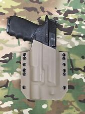 FDE Kydex Holster for M&P Full Size Threaded Barrel 9 40 Surefire X300 Ultra A