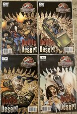 Jurassic Park Devils In The Desert Comics 1-4 Complete Set IDW Rare Very Good