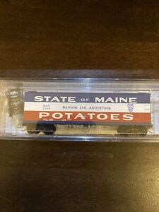 NSC MTL Micro Trains Special Run N BAR State of Maine 40' Wood Reefer 5157 NIB