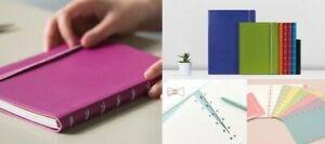 Filofax Refillable Pocket Notebooks. Latest Colours. Small Size. Brand New.