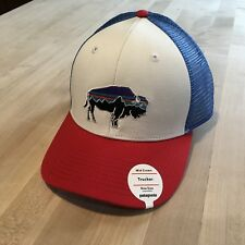 974ad90f Patagonia Fitz Roy Bison Trucker Hat - New With Tags - White w/ Fire Red