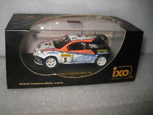 IXO 1:43 WRC FORD FOCUS #5  C Mc RAE & N GRIST MONTE CARLO 2002  RAM077