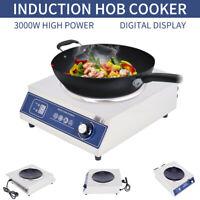 220V-230V 3000W Burner Electric Induction Cooktop Cooker Portable Touch Panel