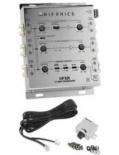Crossover Activo Hifonics HFXR 3-Way con control remoto y 8.5 voltios de salida de preamplificador