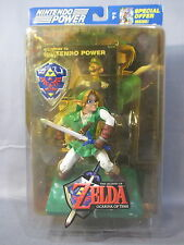 "Legend Of Zelda ""LINK"" Action Figure Ocarina of Time 2003 Nintendo Power Joyride"