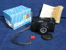 SMENA 35 compact Russian Soviet USSR 35mm LOMO camera T-43 4/40 Lens, LOMOGRAPHY