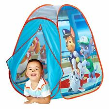 OFFICIAL PAW PATROL POP UP PLAY TENT CHILDRENS AGES 2+