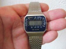 _ hermosas reloj de pulsera __ LED-alarma ___ vintage LED-reloj ___