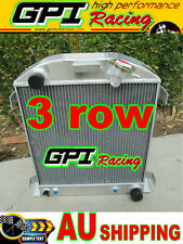3 core all aluminum radiator 1932 FORD CHOPPED CHEVY ENGINE AT/MT 32