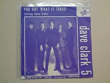 "DAVE CLARK FIVE:You Got What It Takes-Sitting Here Baby-Holland 7"" Columbia PSL"