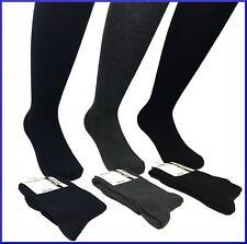6 paia di calze calzini da uomo lunghe in caldo cotone caldocotone elasticizzato