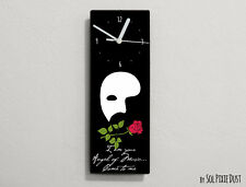 Phantom of the Opera Quotes -I am your Angel of Music...Come to me - Wall Clock
