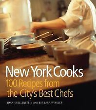 New York Cooks: 100 Recipes from the City's Best Chefs-ExLibrary
