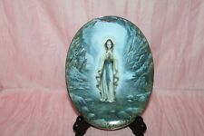 New Bradford Exchange Our Lady of Lourdes Blessed Mother First Collector's Plate