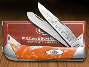 Case xx Trapper Knife Slant Series Tennessee Orange Corelon 1/2500 S9254TN