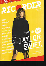 Hungarian Magazine Recorder - 058 - Taylor Swift cover