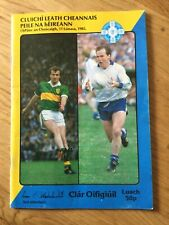 Gaa All Ireland Football semi final 1985 Kerry v Monaghan, Cork v Donegal