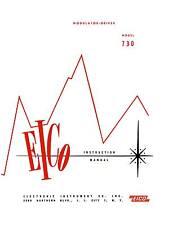 EICO Model 730 Modulator Driver User and Construction Manual