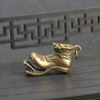 Antique Worn-out Shoe Pendant Small Statue Pocket Gift Ornament Collectible