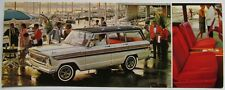 1966 Jeep Super Wagoneer Luxury Wagon Postcard