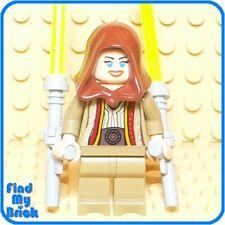SW616 Lego Custom Female Jedi w/ Tonfa Lightsabers NEW