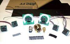 LED Digital Create-A-Dash Blue Custom Gauges Universal Digital Kit DP10003-B