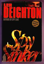 Spy Sinker (Len Deighton/Uncorrected Proof/1st Us/#3 Spy trilogy/Bernard Sampson