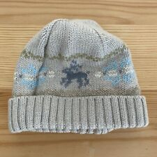 JANIE AND JACK Little Deer Sweater Hat Size 0-3 Months