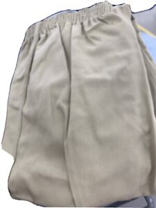 Bob Barker Prison Tristitch Pants Size 2XL Trousers Beige Elastic Waist Pull On