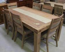 Rectangular Wooden Dining Furniture Sets with 7 Pieces