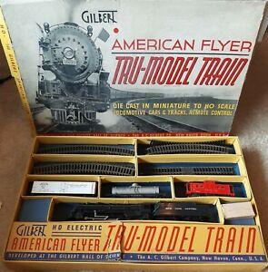Vintage American Flyer HO Train Set Gilbert # 148