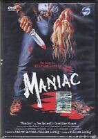 dvd MANIAC con Joe Spinell nuovo sigillato 1981