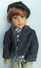"Kidz n Cats Boy Doll ALISTER 18"" Sonja Hartmann Mint in Original Outfit"