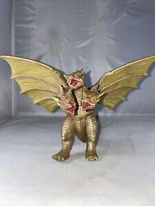 """Bandai 1998 CRETACEOUS KING GHIDORAH 6"""" Vinyl Figure Godzilla Monster Zero Kaiju"""