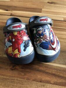 Crocs Gr. 13 UK Avengers Marvel Gr. 30/31 Schuhe Original